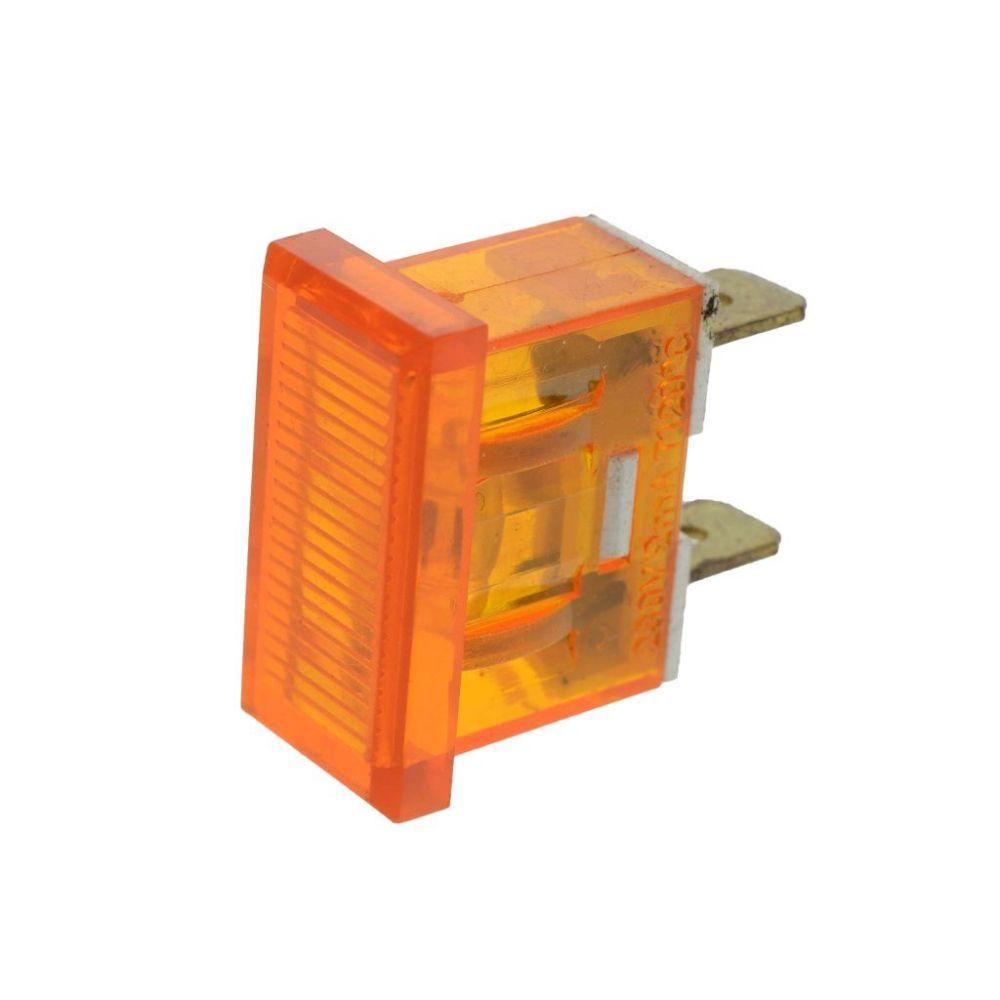 Hs Cleaner 4 Signal Light Orange 230 V Hans Joachim
