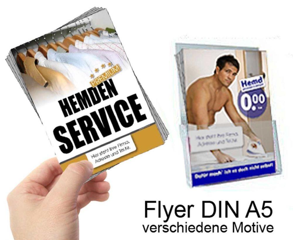 Flyer / Handzettel, DIN A5 (148 x 210 mm) | Hans-Joachim SCHNEIDER GmbH