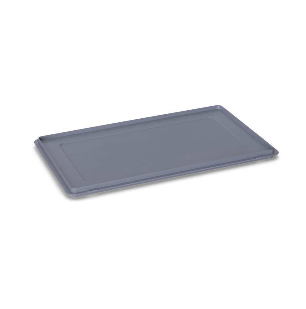 auflagedeckel kunststoff grau ma e 60 x 40 cm hans. Black Bedroom Furniture Sets. Home Design Ideas
