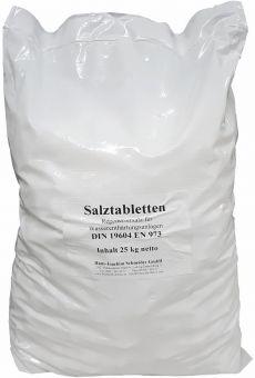 Salztabletten für Wasserenthärtungsanlagen