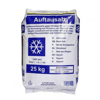 Thaw salt, bag of 25 kg