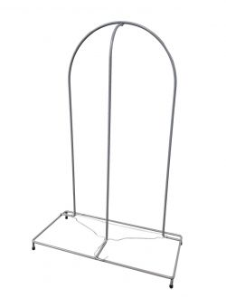 WIRE HANGER STACKER, SIMPLE, 10mm, CHROME-PLATED