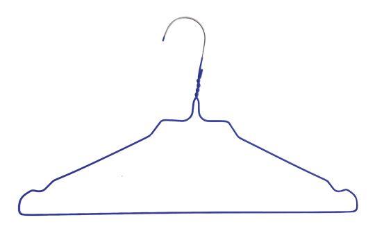 Drahtbügel RAINBOW / HJS, 2,3 mm, blau