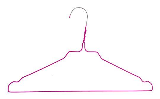 Drahtbügel RAINBOW / HJS, 2,3 mm, pink / magenta
