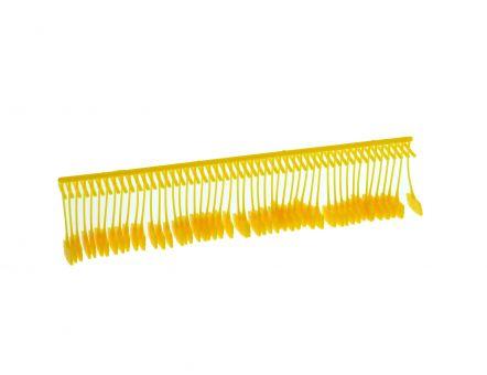 Heftfädchen DENNISON, Nylon, Standard, gelb, 15 mm