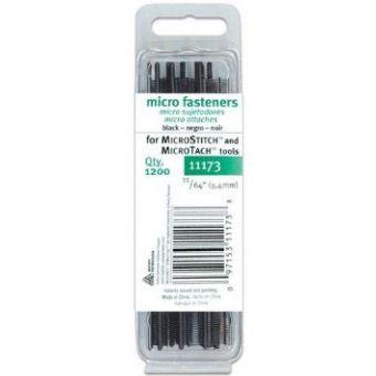 Heftfädchen MicroStitch/Tach, schwarz, 5,4 mm