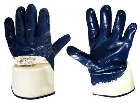 Handschuhe NOVA TRIL®, beige/blau, 26 cm, Gr. 10