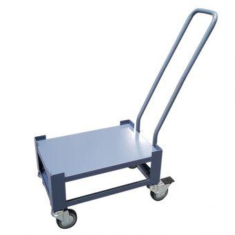 Transportwagen, graublau, für 45 l Wannen + Körbe