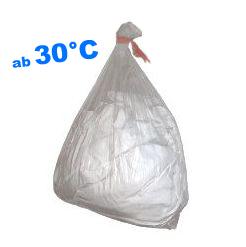 Wäschesack, kaltwasserlöslich 30°C, PVA, transp.