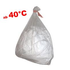 Wäschesack, heißwasserlöslich 40°C, PVA, transp.