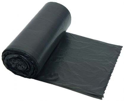 Abfallbeutel 50 x 58 cm, 30 l, dunkelgrau, HDPE