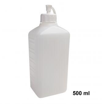 Vierkantflasche, Leerflasche 500 ml